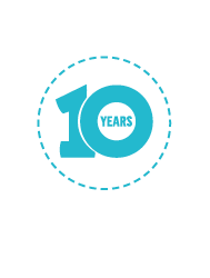 TCB 10 years